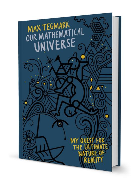 Penguin Book Cover Vector ~ Max tegmark sodavekt